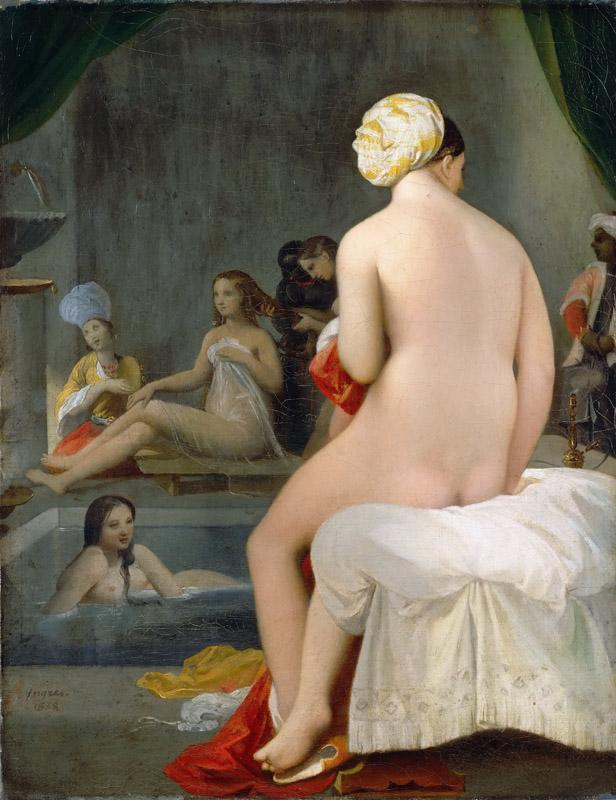 Jean-Auguste-Dominique Ingres -- Small Bather