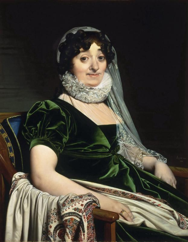 Jean-Auguste-Dominique Ingres, French, 1780-1867 -- Portrait of the Countess of Tournon