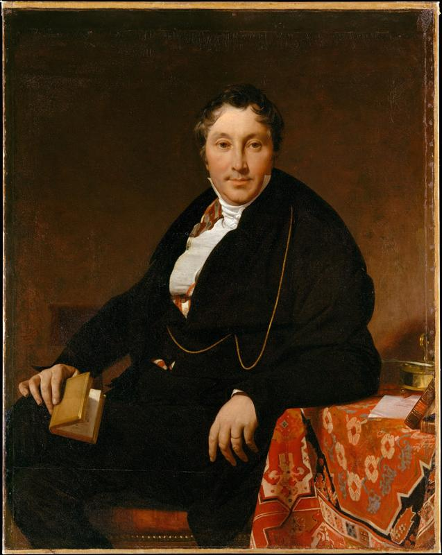 Jean-Auguste-Dominique Ingres--Jacques-Louis Leblanc (1774-1846)