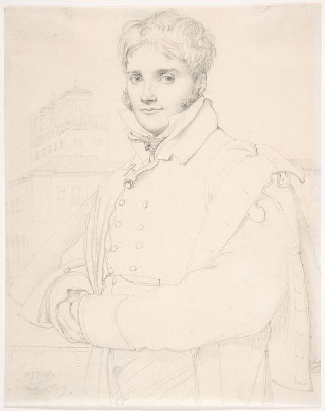 Jean-Auguste-Dominique Ingres--Merry-Joseph Blondel