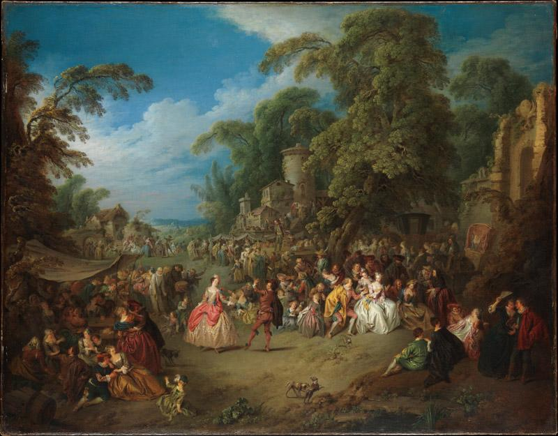 Jean-Baptiste Joseph Pater--The Fair at Bezons