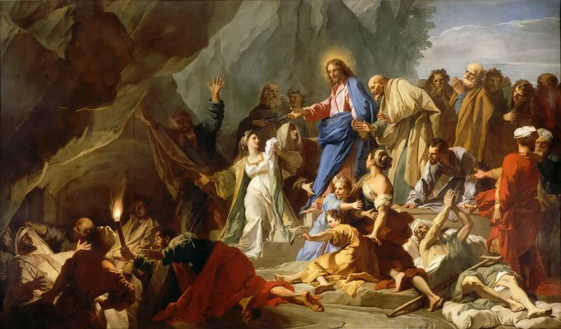 Jean-Baptiste Jouvenet -- Resurrection of Lazarus