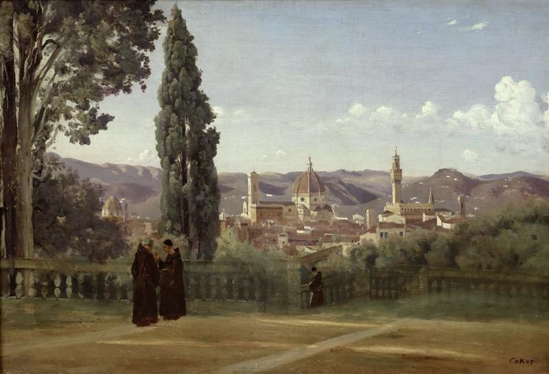 Jean-Baptiste-Camille Corot -- Florence