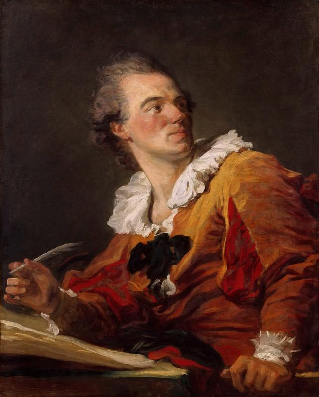 Jean-Honore Fragonard -- Inspiration