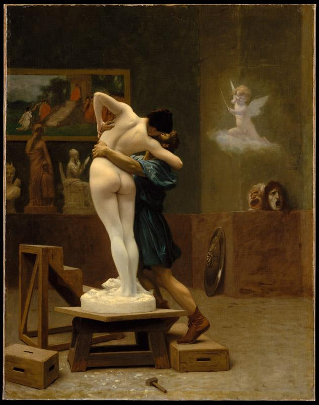 Jean-Leon Gerome---Pygmalion and Galatea