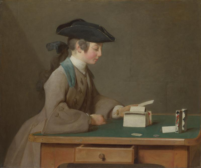 Jean-Simeon Chardin - The House of Cards