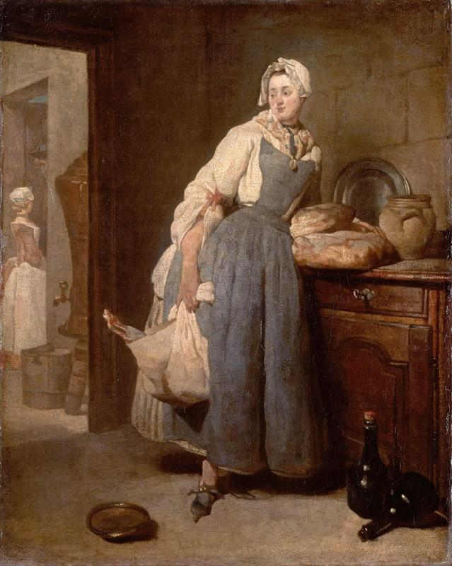 Jean-Simeon Chardin -- Return from Market