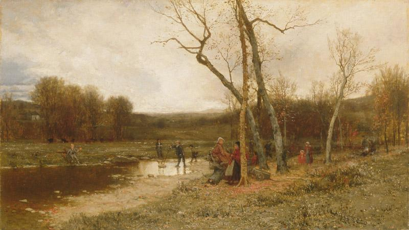 Jervis McEntee--Saturday Afternoon