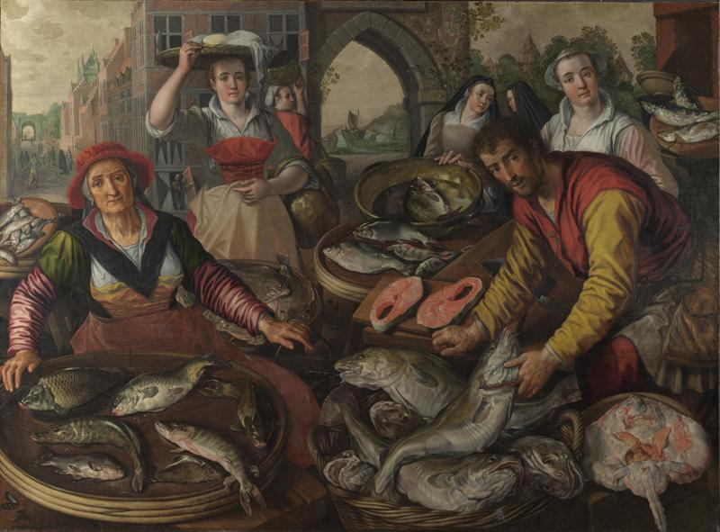 Joachim Beuckelaer - The Four Elements - Water