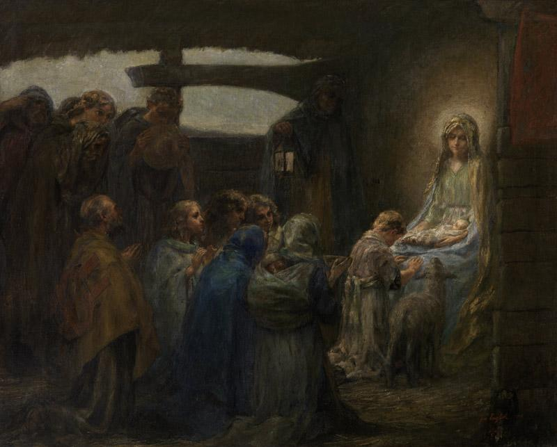 Joe English - Adoration of the child