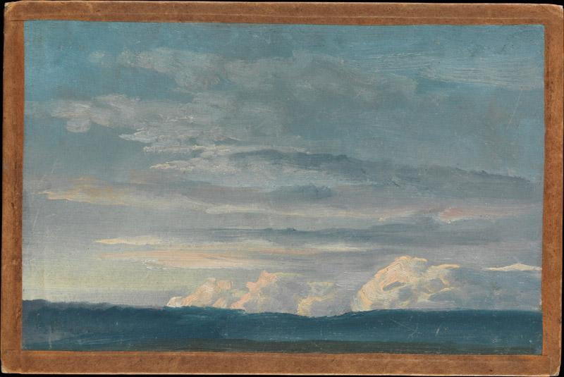 Johan Christian Dahl--Cloud Study