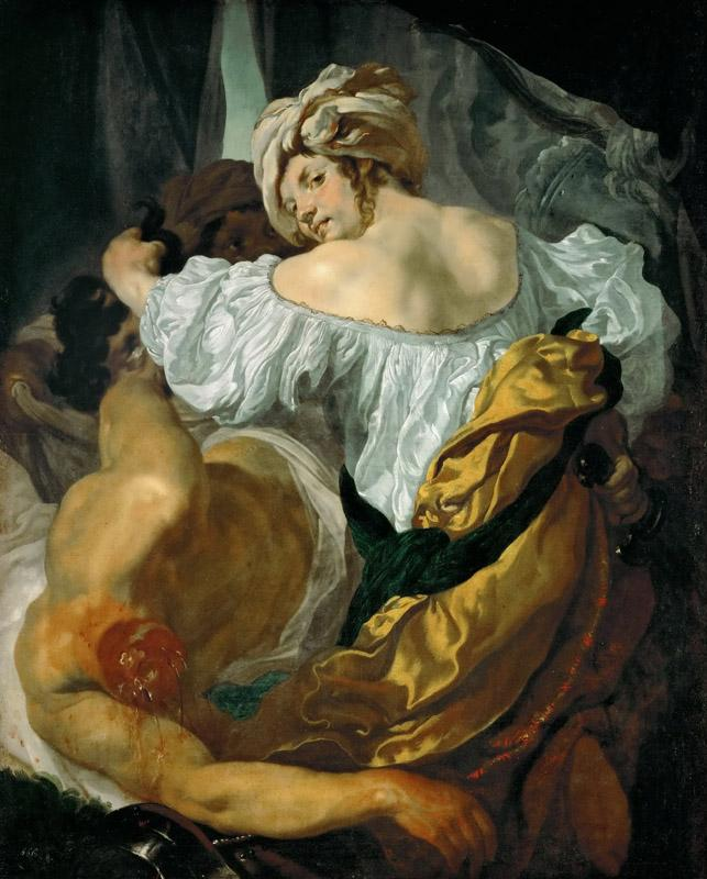 Johann Liss -- Judith with the head of Holofernes