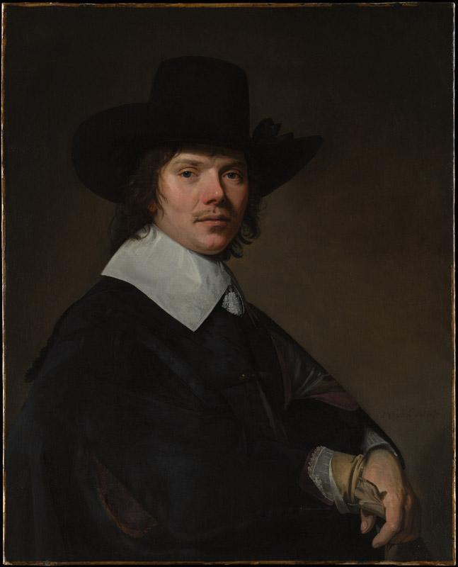 Johannes Verspronck--Portrait of a Man