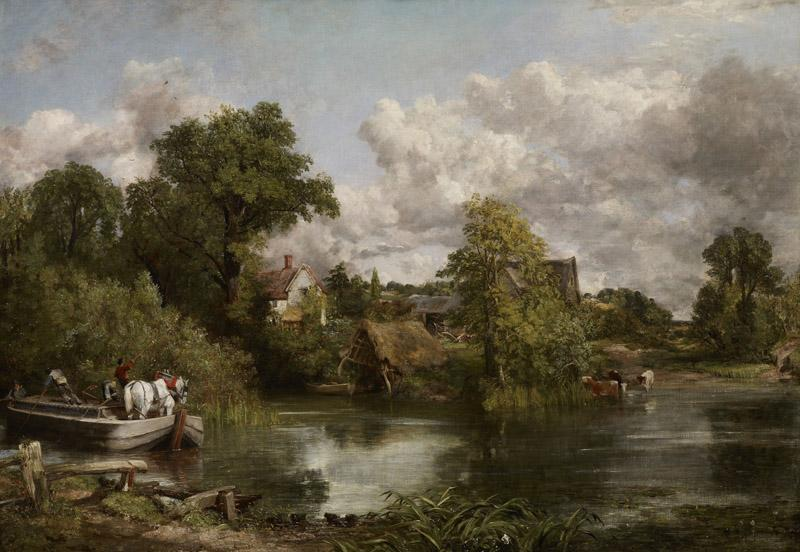John Constable - The White Horse, 1819