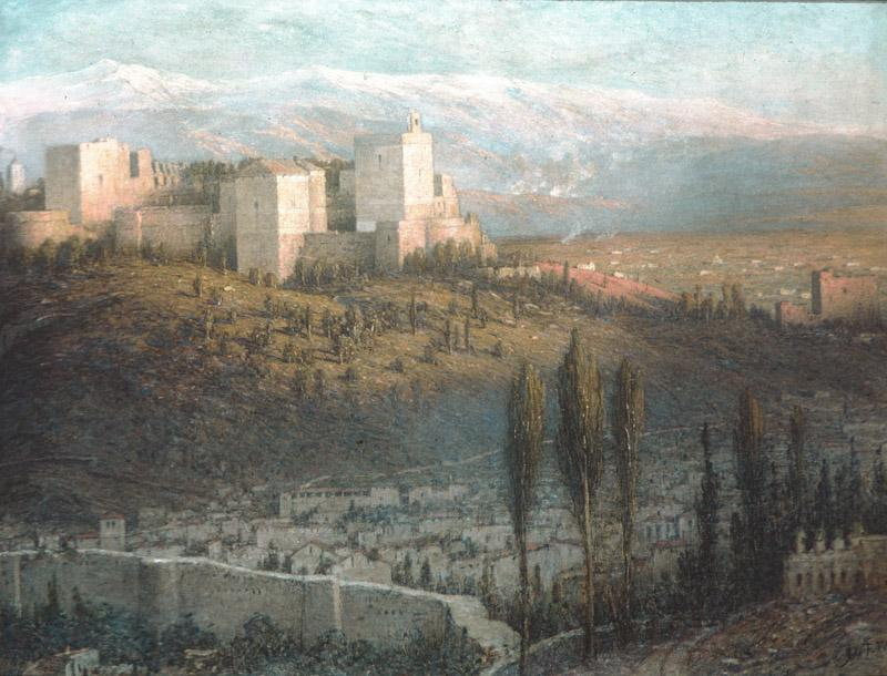 John Ferguson Weir--The Alhambra, Granada, Spain