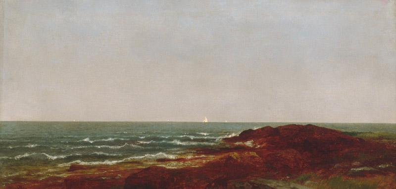 John Frederick Kensett--The Sea