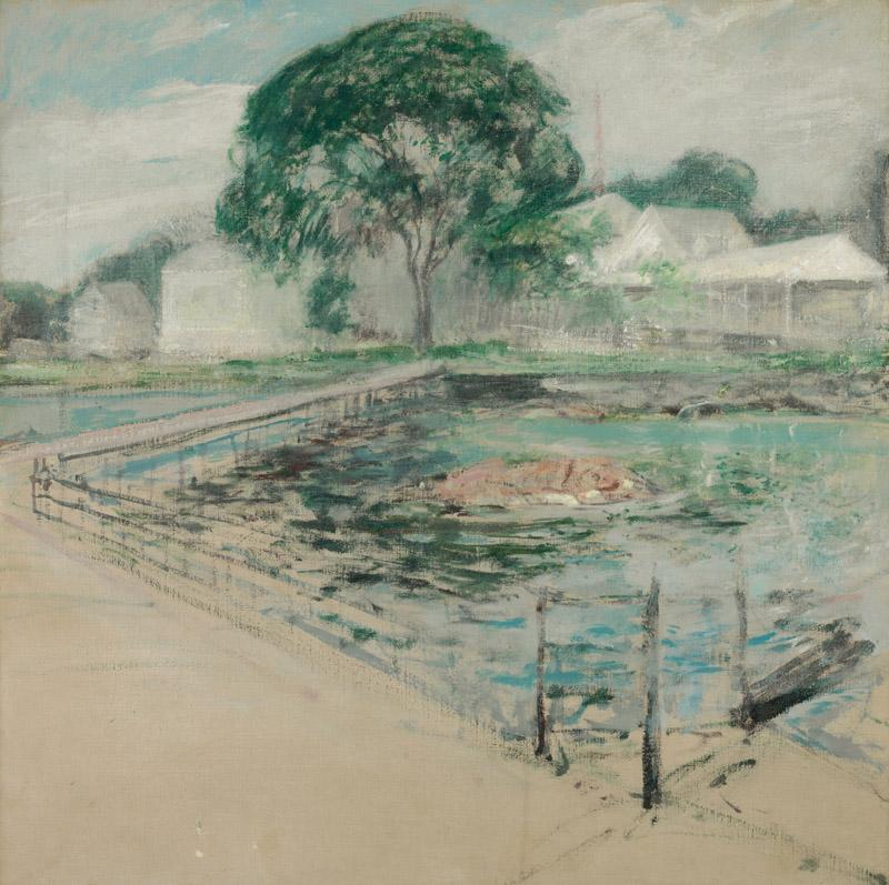 John Henry Twachtman - Harbor View Hotel, 1902