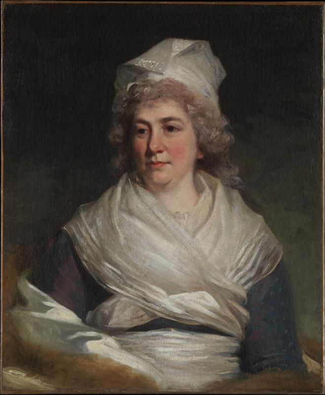 John Hoppner--Mrs. Richard Bache (Sarah Franklin, 1743-1808)