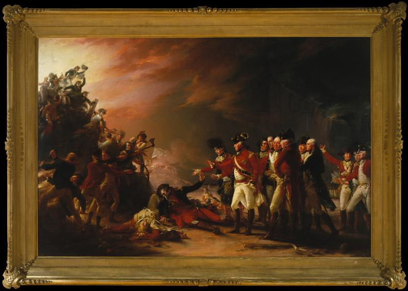 John Trumbull--The Sortie Made by the Garrison of Gibraltar