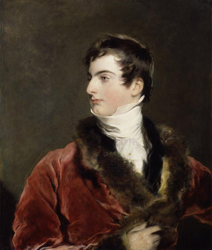 John Arthur Douglas Bloomfield, 2nd Baron Bloomfield by Sir Thomas Lawrence