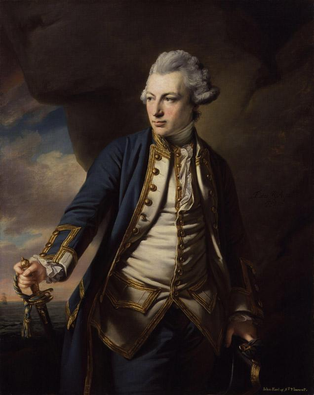John Jervis, Earl of St Vincent by Francis Cotes