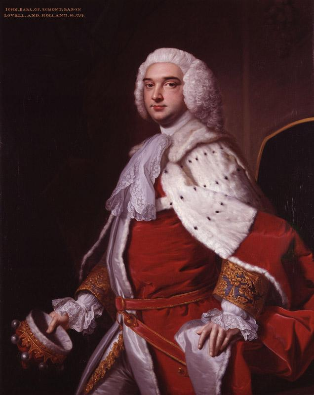 John Perceval, 2nd Earl of Egmont by Thomas Hudson