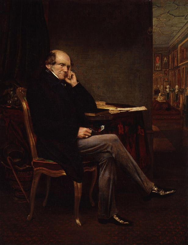 John Russell, 1st Earl Russell by Lowes Cato Dickinson