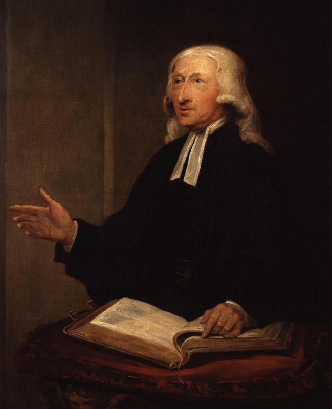 John Wesley by William Hamilton