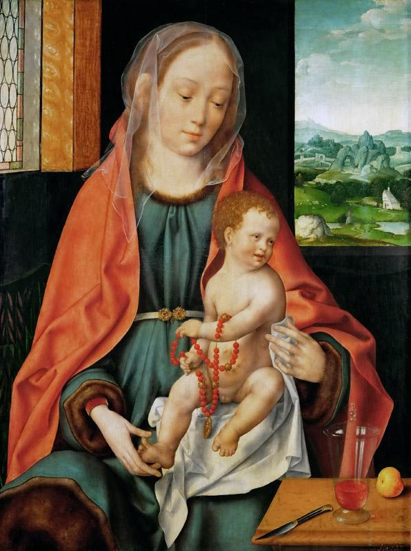 Joos van Cleve -- Saint Mary with the Christ Child