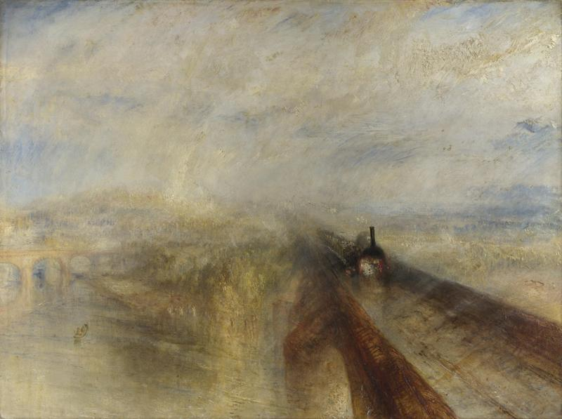 Joseph Mallord William Turner - Rain, Steam, and Speed - The Great Western Railway