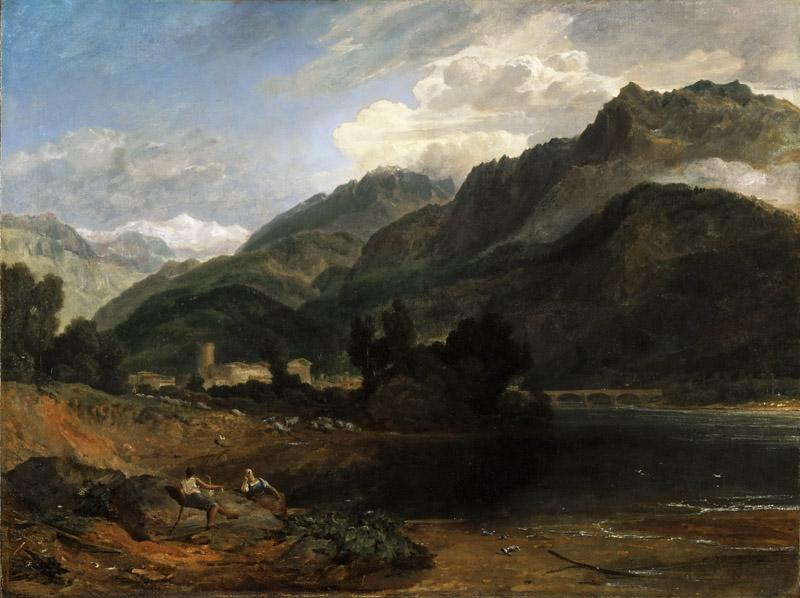 Joseph Mallord William Turner, English, 1775-1851 -- Bonneville, Savoy