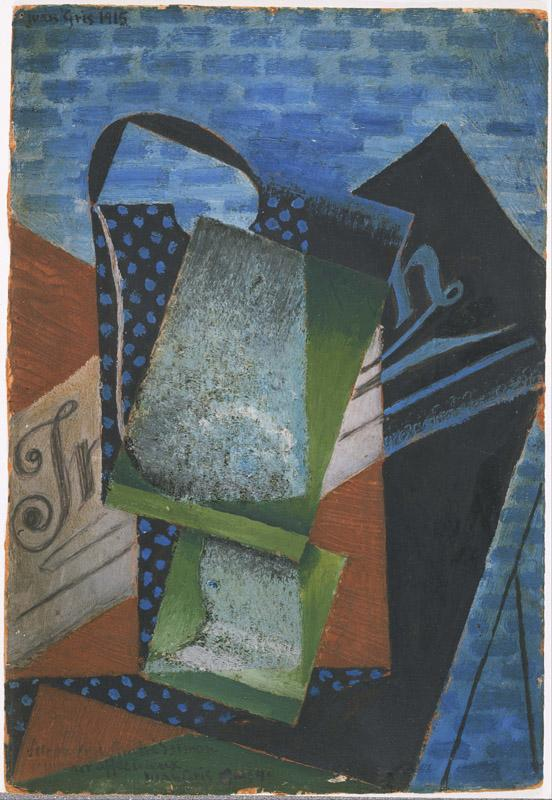 Juan Gris (1887-1927)-Abstraction