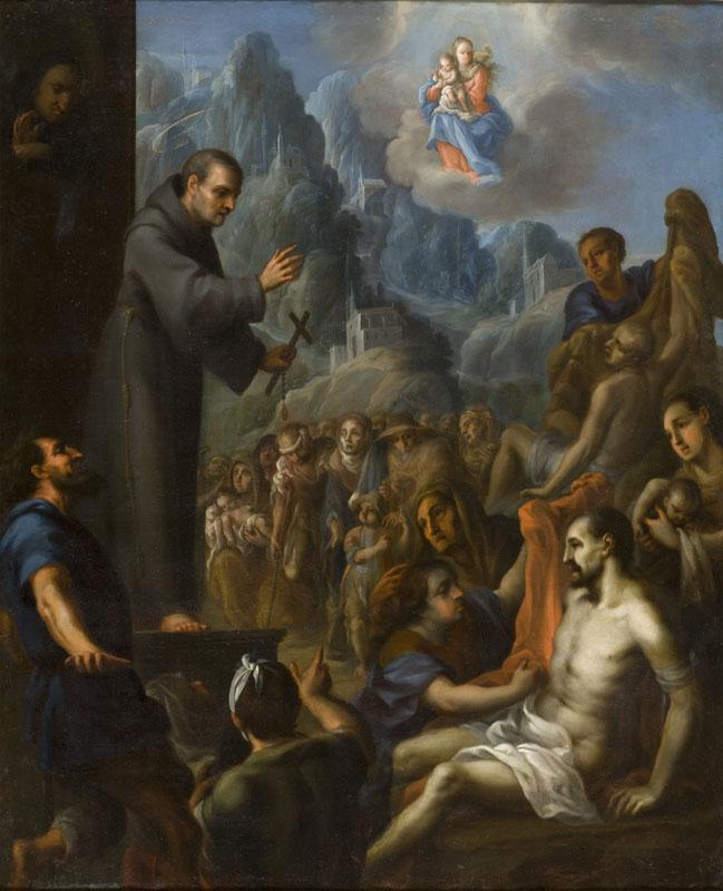Juan Rodriguez Juarez (attributed to) - Miracles of Saint Salvador de Horta