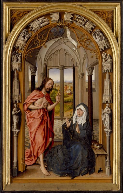 Juan de Flandes--Christ Appearing to His Mother