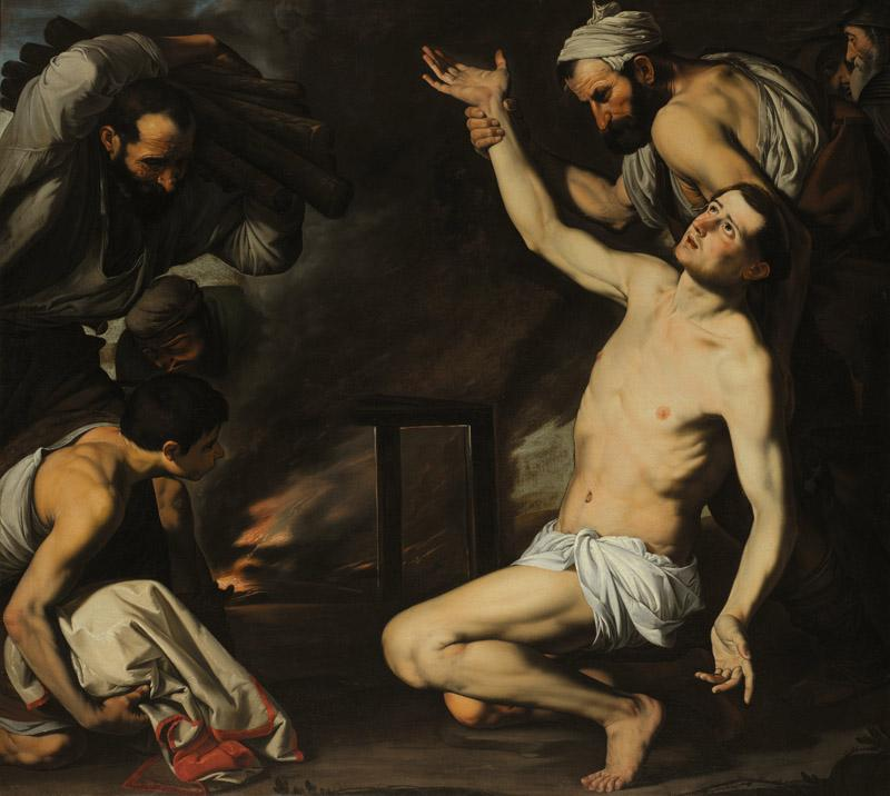 Jusepe de Ribera - The Martyrdom of Saint Lawrence, ca. 1620