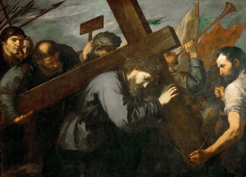 Jusepe de Ribera -- Christ Carrying the Cross