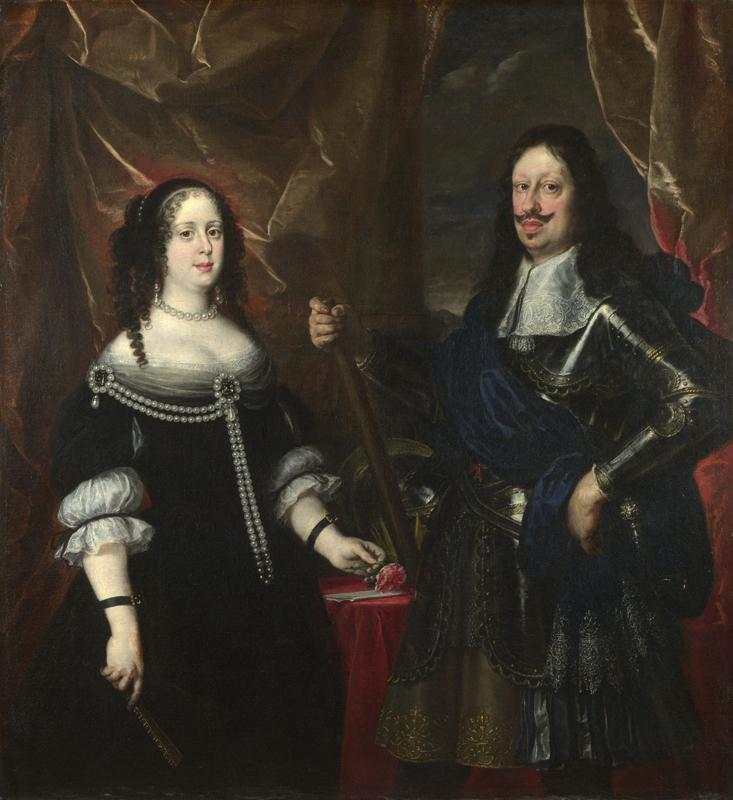 Justus Sustermans - The Grand Duke Ferdinand II of Tuscany and his Wife