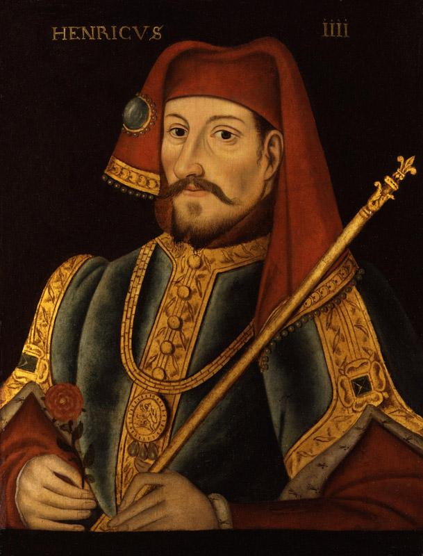 King Henry IV from NPG