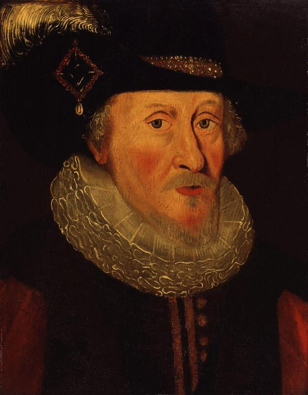 King James I of England and VI of Scotland from NPG