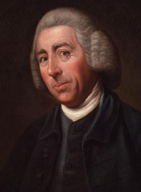 Lancelot (Capability) Brown by Nathaniel Dance, (later Sir Nathaniel Dance-Holland, Bt) cropped
