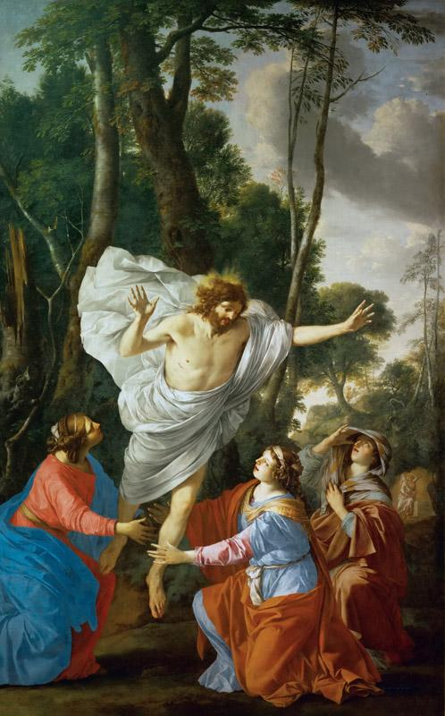 Laurent de La Hyre (1606-1656) -- Christ Appearing to the Holy Women