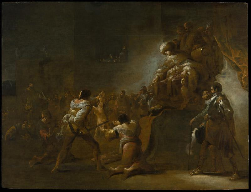 Leonaert Bramer--The Judgment of Solomon