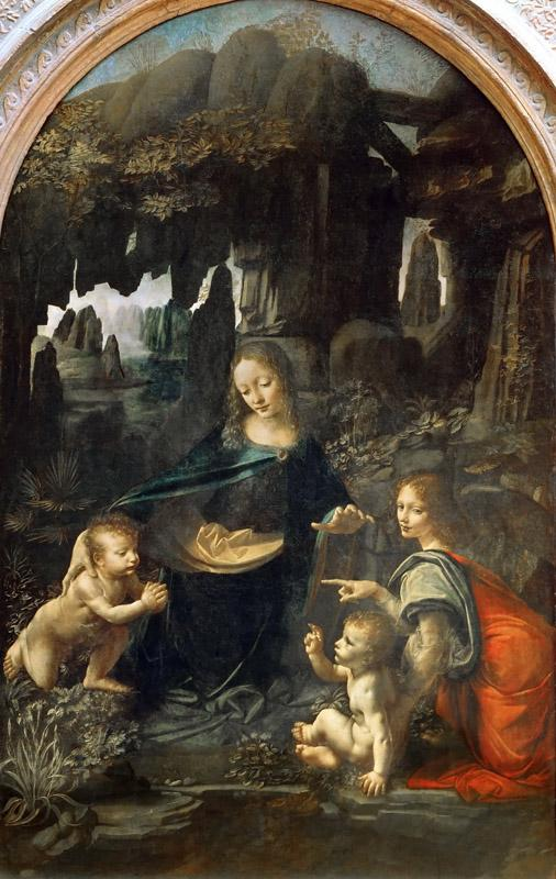 Leonardo da Vinci -- Madonna of the Rocks