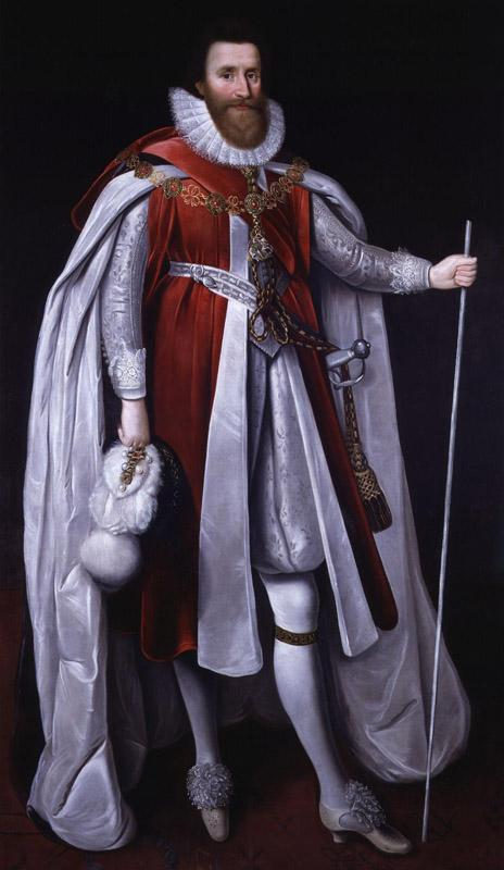 Lodovick Stuart, 1st Duke of Richmond, and 2nd Duke of Lennox by Paul Van Somer