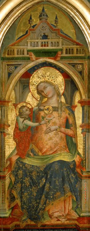 Lorenzo Veneziano -- Madonna and Child