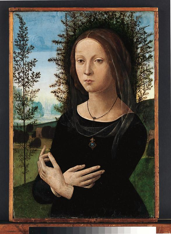 Lorenzo di Credi--Portrait of a Young Woman