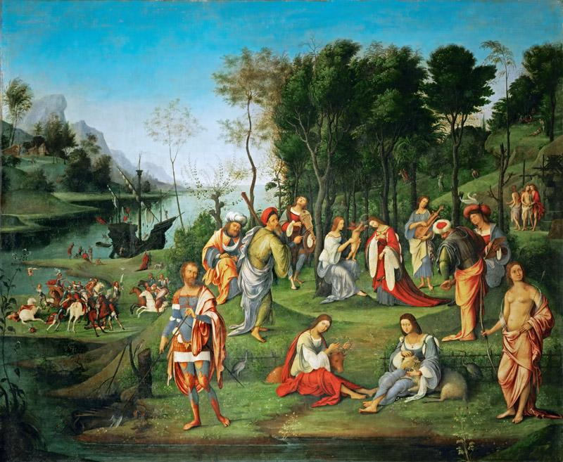 Lorenzo di Ottavio Costa -- Realm of the Muses