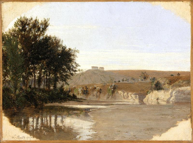 Louis-Leopold Boilly - View of a Lake