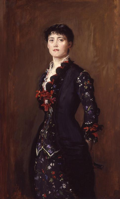 Louise Jane Jopling (nee Goode, later Rowe) by Sir John Everett Millais, 1st Bt