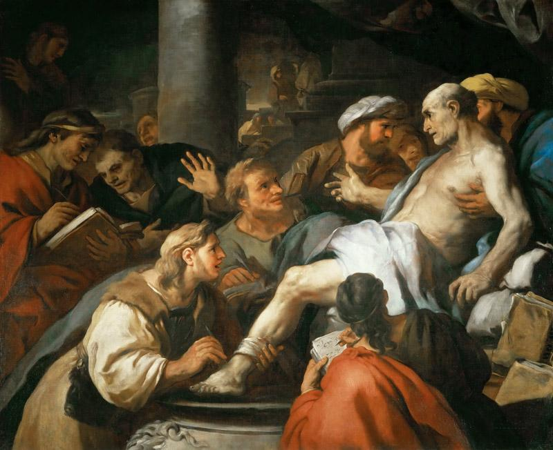 Luca Giordano -- The Death of Seneca